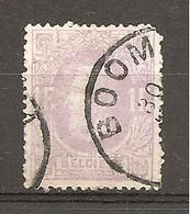 Bélgica - Belgium - Yvert  36 (usado) (o) (defectuoso) - 1869-1883 Leopold II