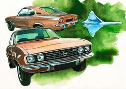 @@@ MAGNET - Opel Manta - Publicitaires