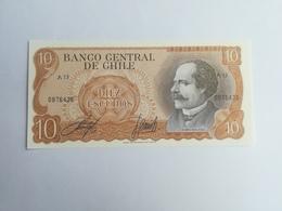CILE 10 ESCUDOS 1976 - Cile