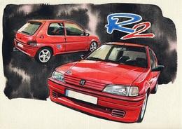 @@@ MAGNET - Peugeot 106 Rallye R2 - Publicitaires