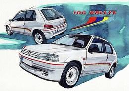 @@@ MAGNET - Peugeot 106 Rallye - Publicitaires