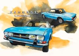 @@@ MAGNET - Peugeot 504 Cabrio - Publicitaires