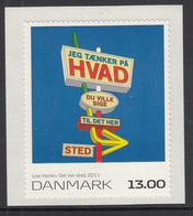 Denmark 2011 MNH Scott #1521 13k Det Her Sted By Lise Harlev Paintings - Danemark