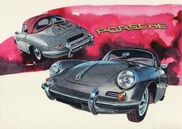 @@@ MAGNET - Porsche 356 - Publicitaires