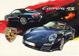 @@@ MAGNET - Porsche 911 Carrera 4s - Publicitaires