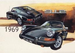 @@@ MAGNET - Porsche 912 - Publicitaires