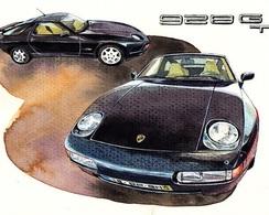 @@@ MAGNET - Porsche 928 Gt - Publicitaires
