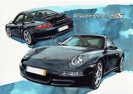 @@@ MAGNET - Porsche Carrera 4S - Publicitaires