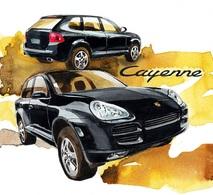 @@@ MAGNET - Porsche Cayenne - Publicitaires