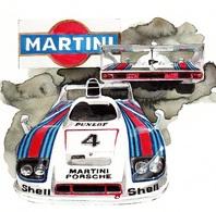 @@@ MAGNET - Porsche Martini - Publicitaires