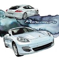 @@@ MAGNET - Porsche Panamera - Publicitaires