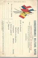 CARTE FRANCHISE MILITAIRE - 14/18 - 5 DRAPEAUX - NON ECRITE - TTBE - Marcophilie (Lettres)