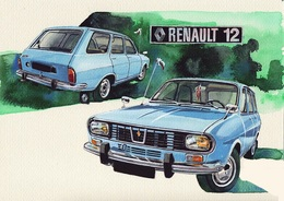 @@@ MAGNET - Renault 12 - Publicitaires