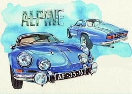 @@@ MAGNET - Renault Alpine A110 - Publicitaires