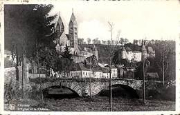 Clervaux - L'Eglise Et Le Château (Bromurite 1946) - Clervaux
