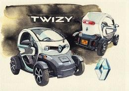 @@@ MAGNET - Renault Twizy - Publicitaires