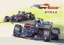 @@@ MAGNET - Scuderia Toro Rosso Str12 - Publicitaires