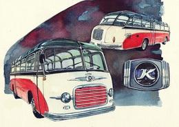@@@ MAGNET - Setra Bus Kassbohrer S11 - Publicitaires