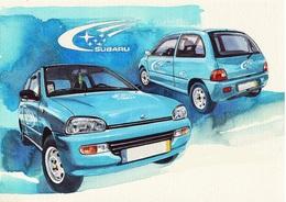 @@@ MAGNET - Subaru Vivio 4x4 - Publicitaires