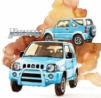 @@@ MAGNET - Suzuki Jimny - Publicitaires