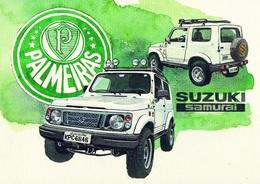 @@@ MAGNET - Suzuki Samurai - Publicitaires