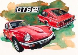 @@@ MAGNET - Triumph Gt6 Mk3 - Publicitaires