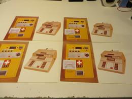 SCHWEIZ  Posten  A T M  -  BELEGE  Und  SONDERSACHEN - Briefmarken
