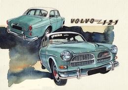 @@@ MAGNET - Volvo 121 - Publicitaires