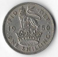 United Kingdom 1950 1/- English [C825/2D] - 1902-1971 : Post-Victorian Coins