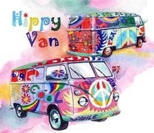 @@@ MAGNET - Vw Bus - Publicitaires