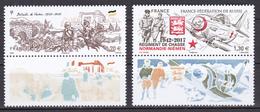 France 2017 WWI And WWII Verdun Et Normandie-Niémen (Yv 5063A Et 5167A ) Rare MNH** Luxe - 1. Weltkrieg
