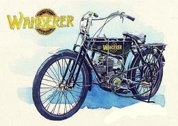 @@@ MAGNET - Wanderer Classic Bike - Publicitaires