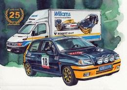 @@@ MAGNET - Williams Renault Clio - Publicitaires