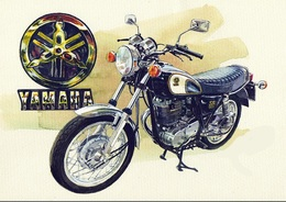 @@@ MAGNET - Yamaha Sr500 - Publicitaires
