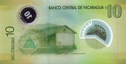 Nicaragua P.201 10 Cordobas 2007   Unc - Nicaragua