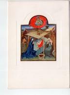 """U4074 Cartolina """"Casa Di Redenzione Sociale Niguardia"""" - BRITISH MUSEUM: """"natività"""" Miniatura Di Scuola Francese - Musei"""