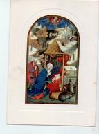 """U4075 Cartolina """"Casa Di Redenzione Sociale Niguardia"""" - BRITISH MUSEUM: """"natività"""" Miniatura Di Scuola Francese - Musées"""