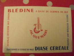 Buvard Blédine Germes De Blé Jacquemaire Diase Céréale Bouillie - Alimentaire