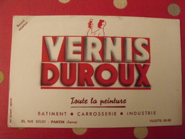 Buvard Vernis Duroux; Toute La Peinture Batiment Carrosserie Industrie. Pantin Seine - Peintures