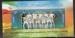SPORTS, 2018, MNH,  FOOTBALL, SOCCER, RUSSIA WORLD CUP,NATIONAL TEAMS, FLAGS,  S/SHEET - World Cup