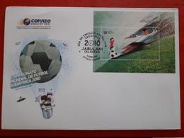 L'Argentine FDC Mondial 2010 Un Bloc Avec Hologramme - Wereldkampioenschap