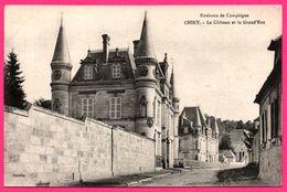 Chiry - Le Chateau Et La Grand Rue - DECELLE - France