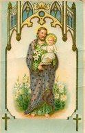 JESUS CON NIÑO JESUS WITH CHILD CIRCA 1920 POSTAL CARD COLOR -LILHU - Jezus