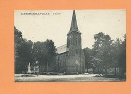 CPA -  Plessis Belleville  -   L'église - France
