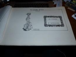 Rare  Studio Janus La Terre D'Houdeng 27 Gravures Dessins Marcel Herman  Houdeng Aimeries Et Houdeng Goegnies - Belgio