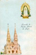 NUESTRA SEÑORA DE LUJAN VIRGEN IGLESIA VIRGIN CHURCH CIRCA 1920 POSTAL CARD COLOR -LILHU - Kerken En Kloosters