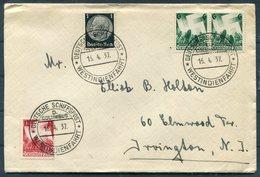 1937 Germany Deutsche Schiffspost Westindienfahrt COLUMBUS NDL Bremen Ship Cover - Briefe U. Dokumente