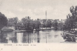 Oostende, Ostende, Le Parc Léopold, Le Lac (pk51829) - Oostende