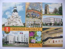 Slovakia MEDZILABORCE - Orthodox Church, Monastery, Hotel Laborec, Andy Warhol Museum - Posted 1999 - Slovacchia