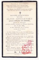 DP Carolina Van Looveren ° Antwerpen BEL 1878 † Chicago USA 1909 X Alois Adriaensen - Santini